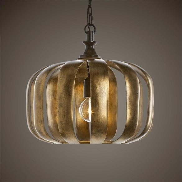 Modern Gold Pendant Light
