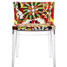 Modern Flower Fabric Chair