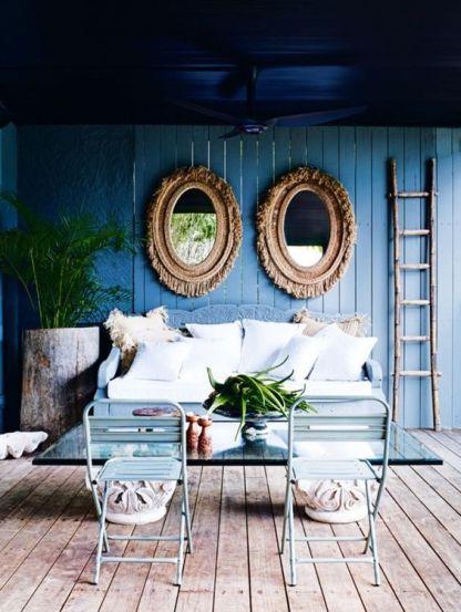 blue deck
